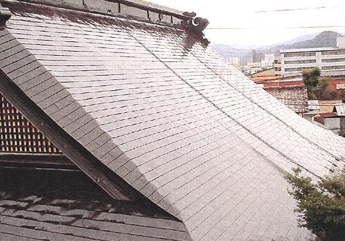 屋根の大改修