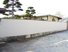 外塀のリニューアル