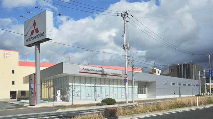 山形三菱自動車販売鉄砲町店